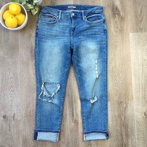 3/$30 TOMMY HILFIGER Boyfriend Distressed Jeans 4